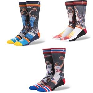 Mens NBA Stance Socks size large 9-12